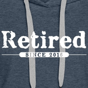 Retired since 2016 Hoodies & Sweatshirts - Women's Premium Hoodie