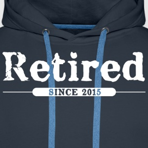 Retired since 2015 Hoodies & Sweatshirts - Men's Premium Hoodie