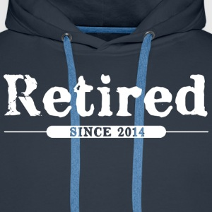 Retired since 2014 Hoodies & Sweatshirts - Men's Premium Hoodie