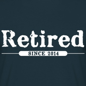Retired since 2014 T-Shirts - Men's T-Shirt
