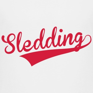 Luge Sled Rodeln Luger Sledding Slider Shirts - Teenage Premium T-Shirt