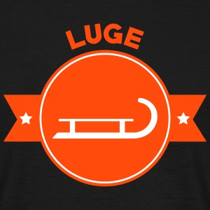Luge Sled Rodeln Luger Sledding Slider T-Shirts - Men's T-Shirt