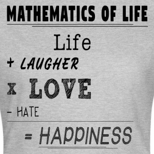 Mathematics of Life - Frauen T-Shirt