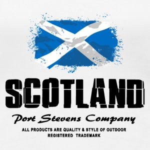 Scotland Flag Logo T-Shirts - Frauen Premium T-Shirt