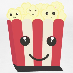 Popcorn-Kawaii-box T-Shirts - Frauen Premium T-Shirt