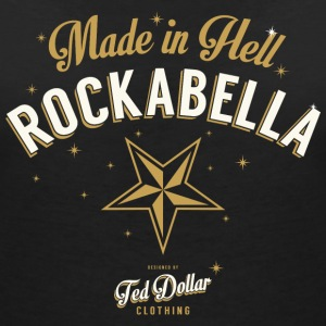 Rockabella-made-in-Hell Tee shirts - T-shirt col V Femme