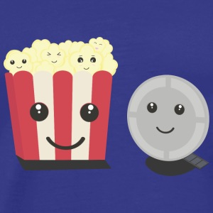 Cinema film Pocorn with faces T-Shirts - Men's Premium T-Shirt