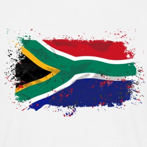 South Africa Flag  T-Shirts - Männer T-Shirt