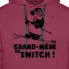 Sweat Ski - Ta grand mère en switch ! - Sweat-shirt à capuche Premium pour hommes