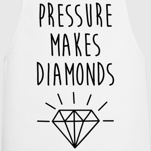Pressure Makes Diamonds Quote Fartuchy - Fartuch kuchenny