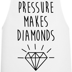 Pressure Makes Diamonds Quote  Aprons - Cooking Apron