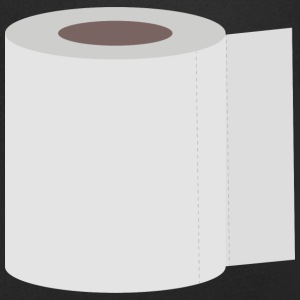 Roll toilet paper T-Shirts - Men's V-Neck T-Shirt