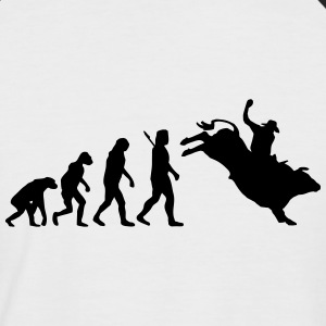 Evolution Rodeo T-Shirts - Männer Baseball-T-Shirt