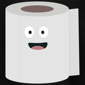 Toilet paper with face Shirts - Teenage T-shirt