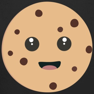 chocolate Chip Cookie kawaii Body neonato - Body ecologico per neonato a manica lunga
