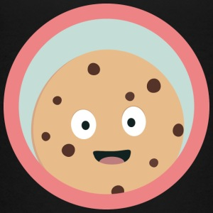 Chocolate cookie met rode cirkel Shirts - Teenager Premium T-shirt