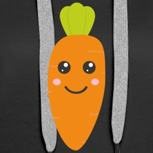 Cute baby carrott Hoodies & Sweatshirts - Women's Premium Hoodie