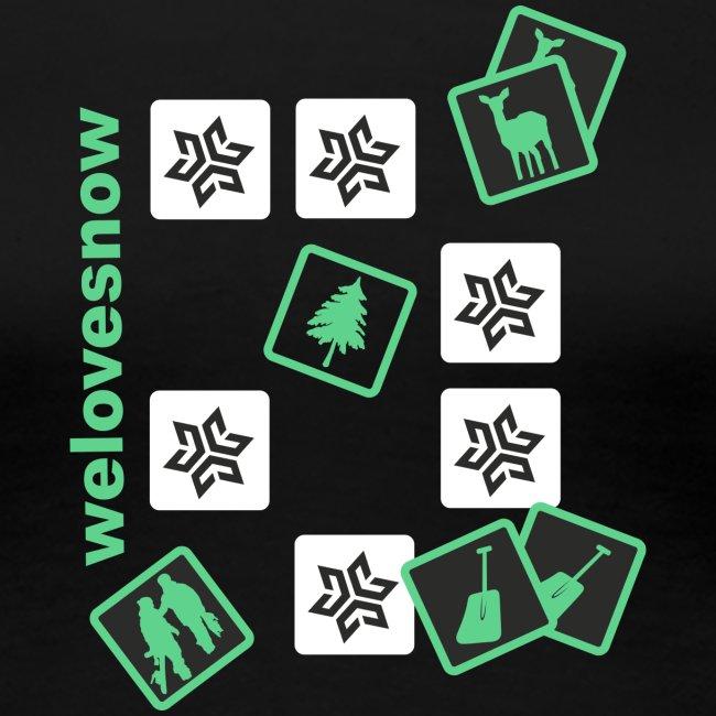 Welovesnow Memory Cards Tee