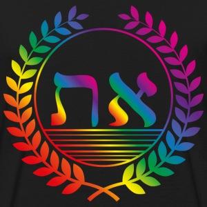 alef tav rainbow alpha omega