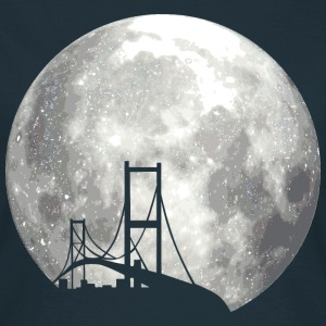 full moon with bridge T-Shirts - Frauen T-Shirt