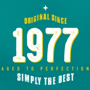 original since 1977 simply the best 40th birthday - Frauen T-Shirt
