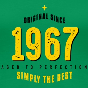original since 1967 simply the best 50th birthday - Frauen Premium T-Shirt