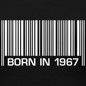 born in 1967 50th birthday 50. Geburtstag barcode - Frauen Premium T-Shirt
