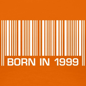 born in 1999 18th birthday 18. Geburtstag barcode - Frauen Premium T-Shirt