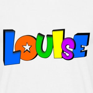 Louise T-shirts - Mannen T-shirt