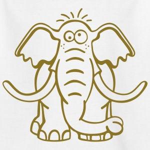 stor elefant T-shirts - Teenager-T-shirt