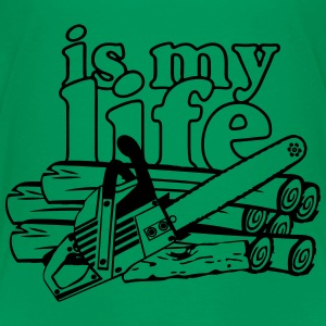 Motorsäge is my life T-Shirts - Teenager Premium T-Shirt