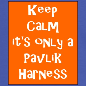 Keep Calm it's only a Pavlik Harness - Men's Ringer Shirt