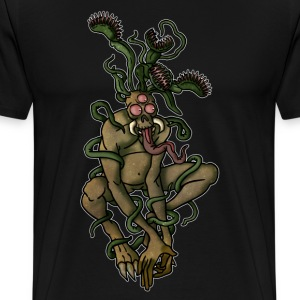Venus Fly Trap Monster - Männer Premium T-Shirt