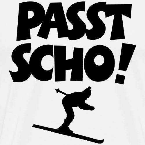 Passt Scho Skifahrer Apres Ski