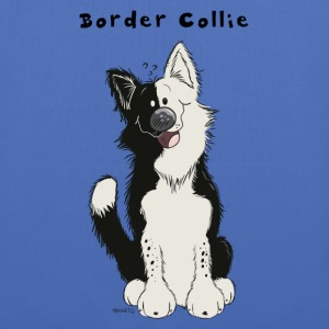 Border Collie comique Sacs et sacs à dos - Tote Bag