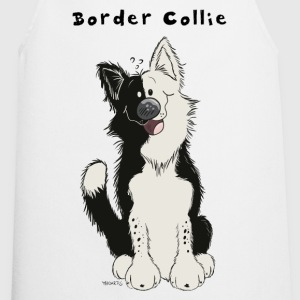 Sweet Border Collie  Aprons - Cooking Apron