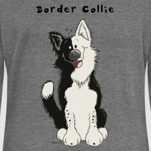 Border Collie comique Sweat-shirts - Pull Femme col bateau de Bella