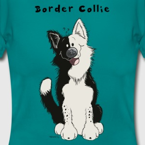 Border Collie comique Tee shirts - T-shirt Femme