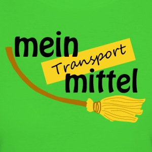 Mein Transportmittel - Frauen Bio-T-Shirt