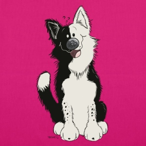 Cute Border Collie Bags & Backpacks - EarthPositive Tote Bag
