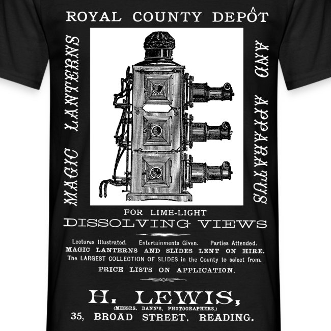Lewis Photographer, Reading (Front)