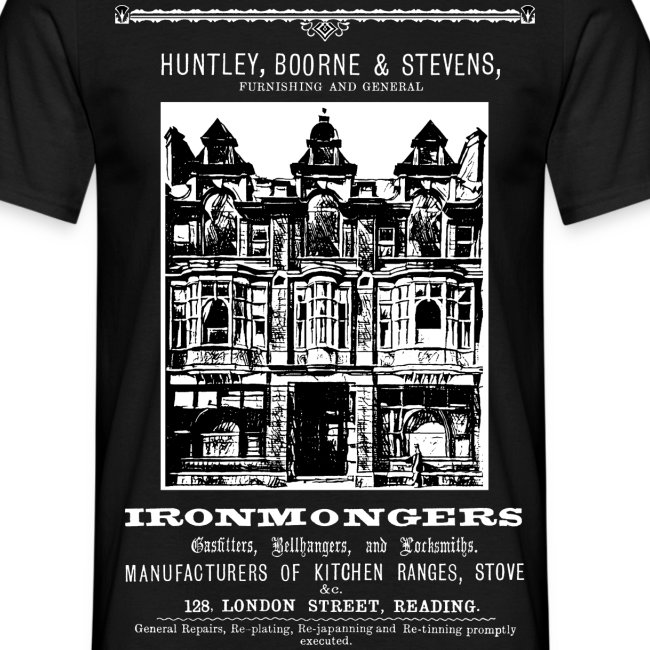 Huntley, Boorne & Stevens, Reading (Front)