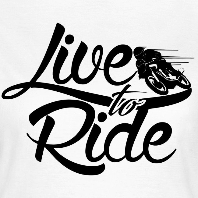 Motorrad Liebe chick shirt