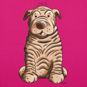 Funny Shar Pei Bags & Backpacks - EarthPositive Tote Bag