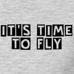 Tee Shirt gris It's Time to Fly - T-shirt Homme