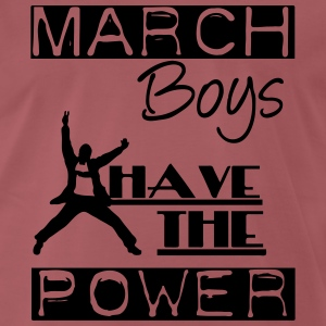 March Boys T-Shirts - Men's Premium T-Shirt