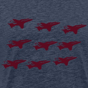 The Red Arrows T-Shirts - Men's Premium T-Shirt