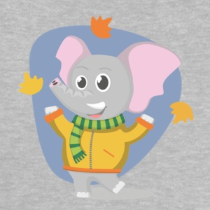 Elefant im Herbst Baby T-Shirts - Baby T-Shirt