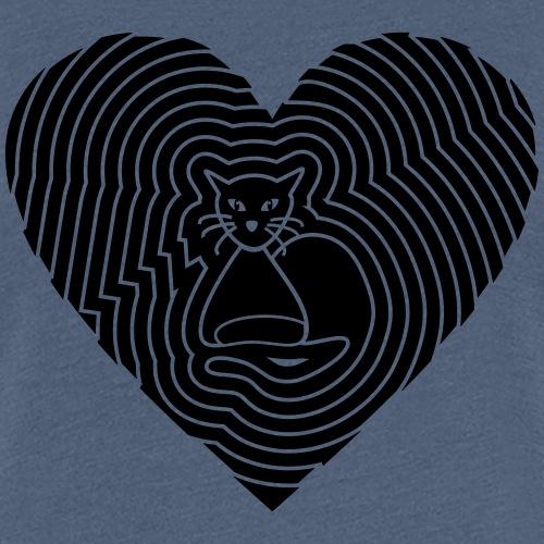 Katzen Herz Spirale