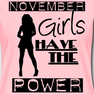 November Girls T-Shirts - Frauen Premium T-Shirt